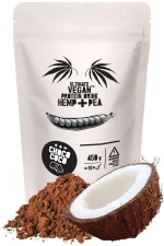 ULTIMATE VEGAN Protein Drink Hemp+Pea CHOCO COCO 450 g / ULTIMATE VEGAN Proteínový Nápoj Hemp+Pea CHOCO COCO 450 g